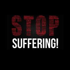 Stop suffering