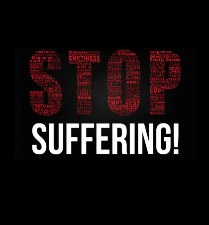 Stop suffering -Event