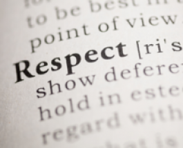 How can we show respect to God?