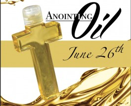 Anointing Oil – 2016