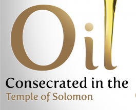 Oil consecrated in the Temple of Solomon
