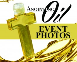 Photos of the Anointing Oil Event 2015