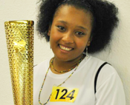 Menace to society turns Olympic torchbearer